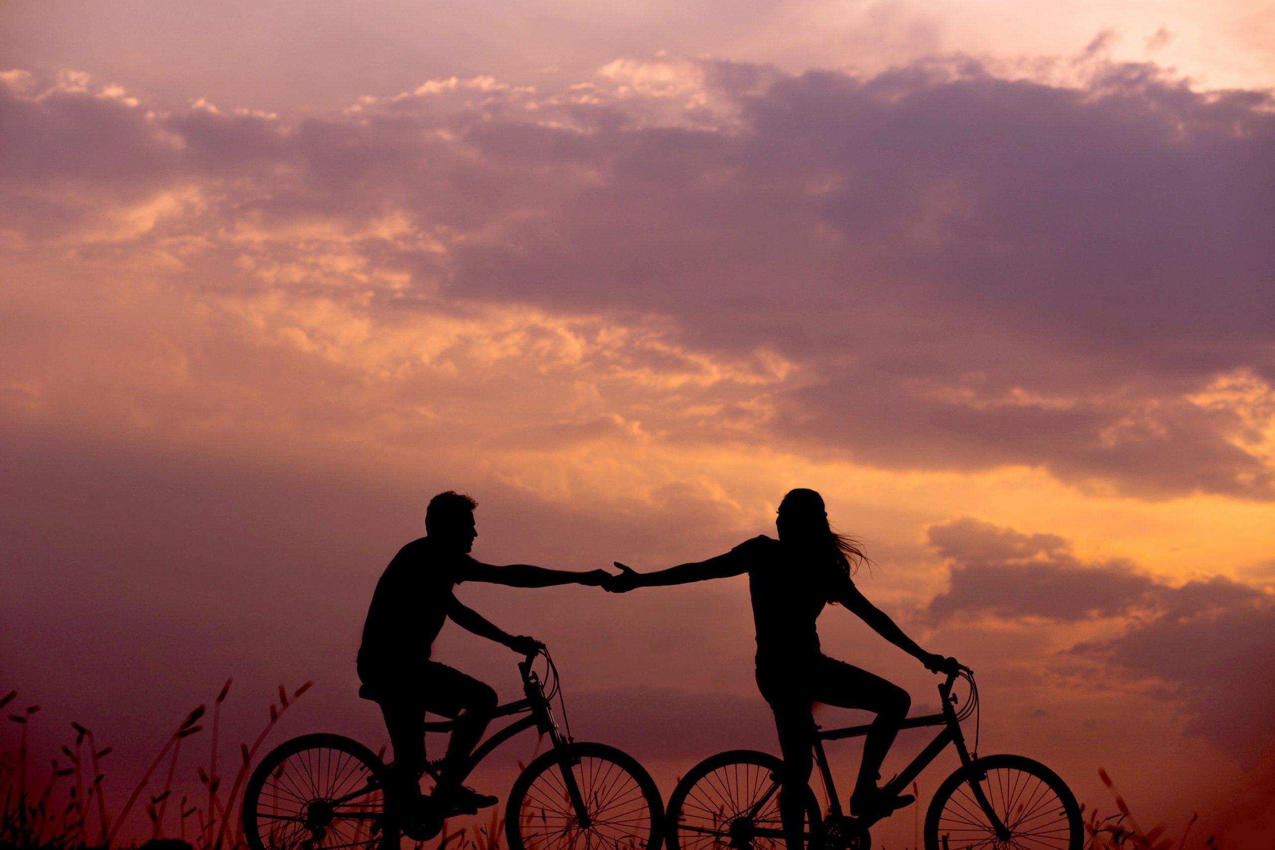 2 Radfahrer