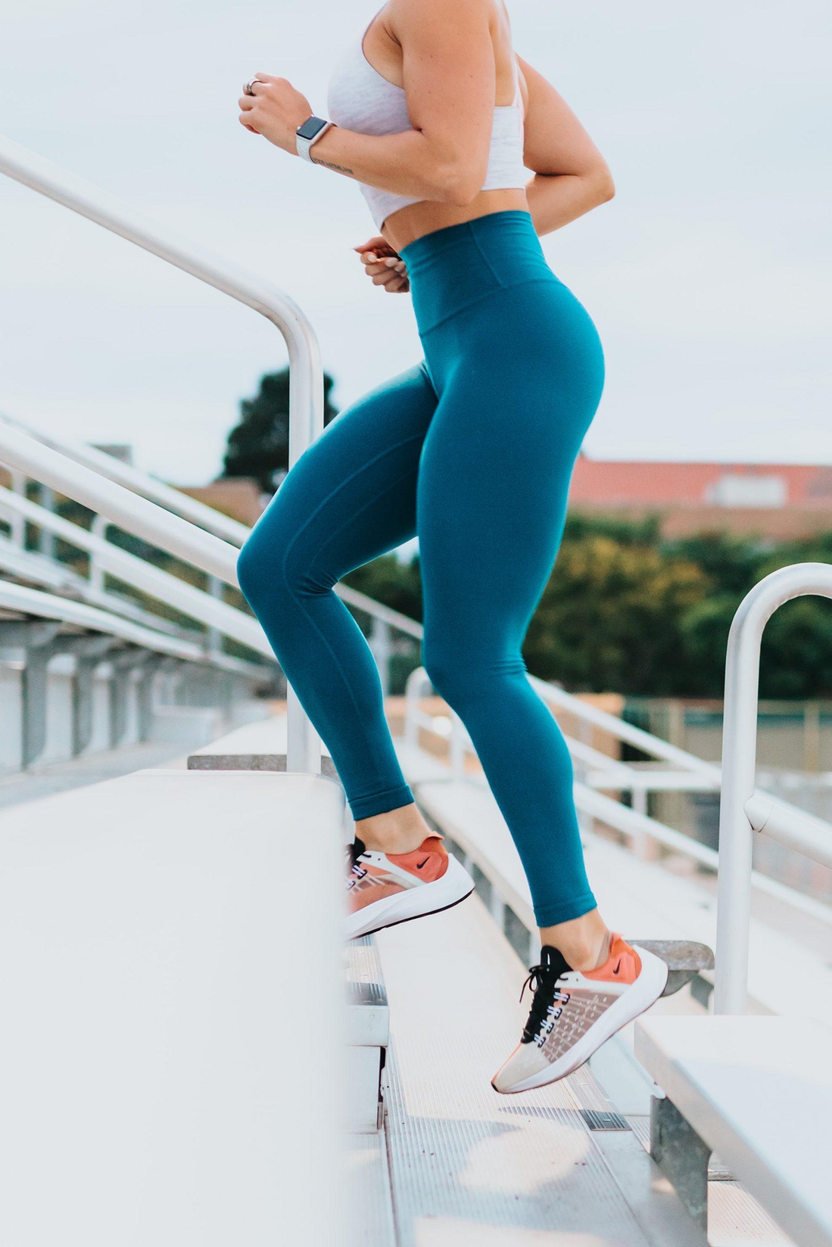 Treppenlauf Frau
